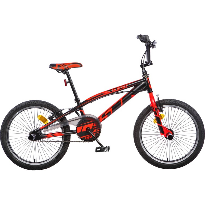 Afbeelding van Aurelia BMX fiets 20 Inch 47 cm Unisex V-Brake Zwart/Rood