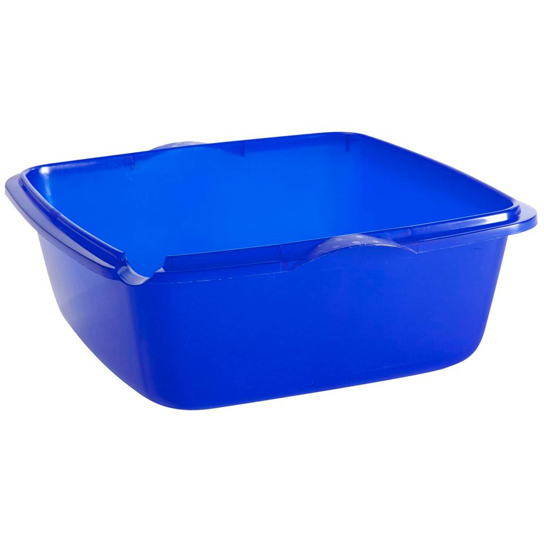 Allibert waskom vierkant ergo 6L blauw Afwasteilen
