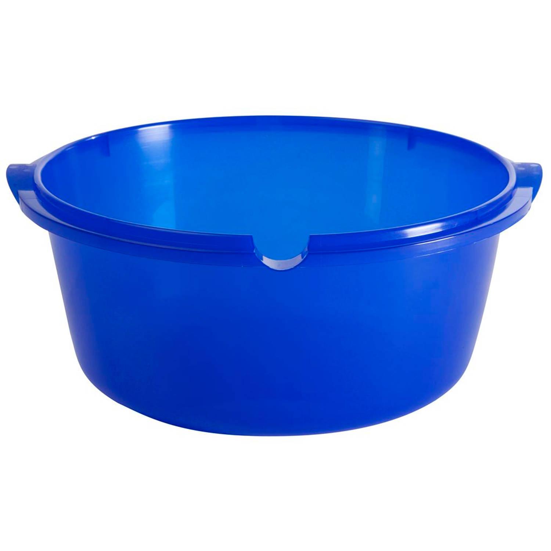 Allibert waskom rond ergo 11L blauw Afwasteilen
