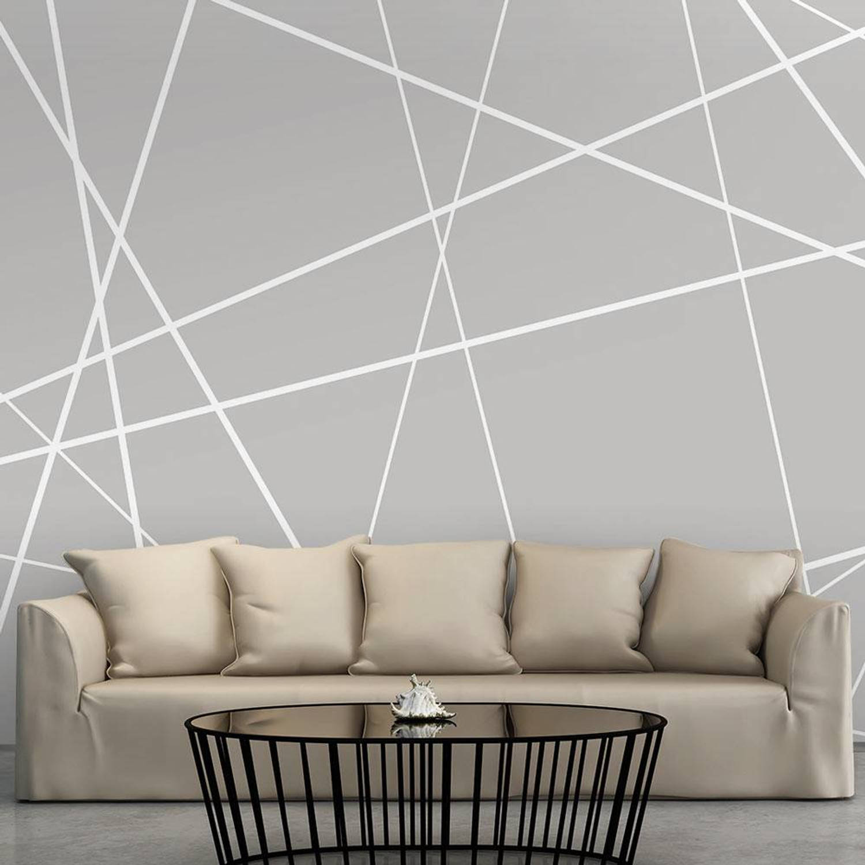 Fotobehang - Modern spinnenweb - 400x280