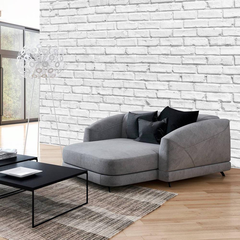 Fotobehang - Witte stenen - 350x245