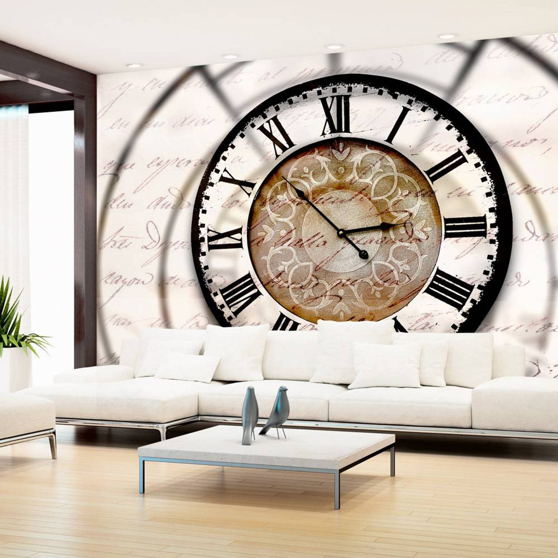 Fotobehang - Elusive time - 200x140
