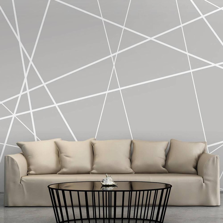 Image of Fotobehang - Modern spinnenweb - 350x245