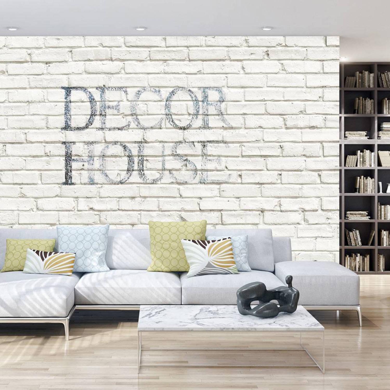 Fotobehang - Decor - Stijlvolle muur - 400x280