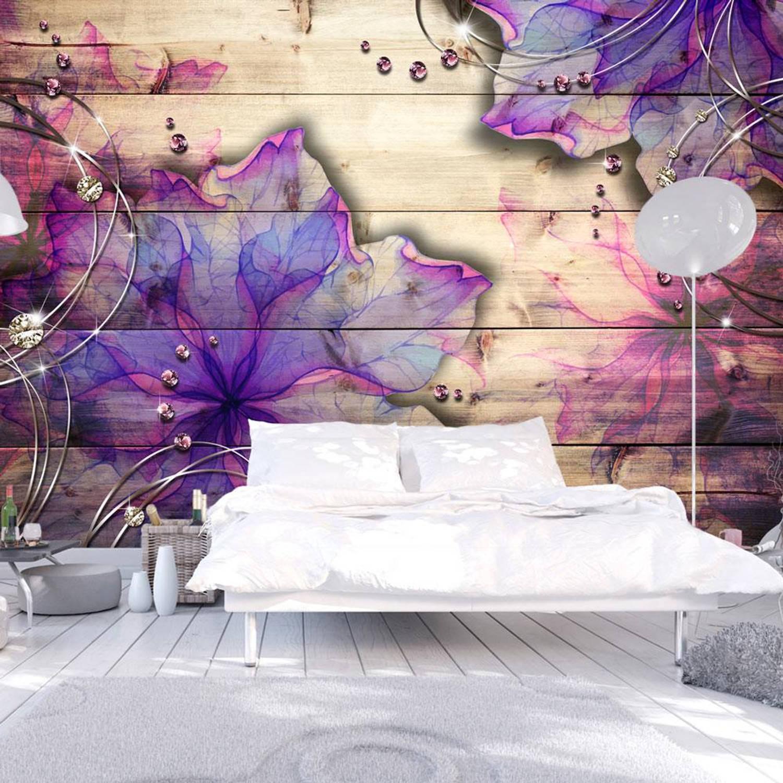 Fotobehang - Purple Memory - 300x210