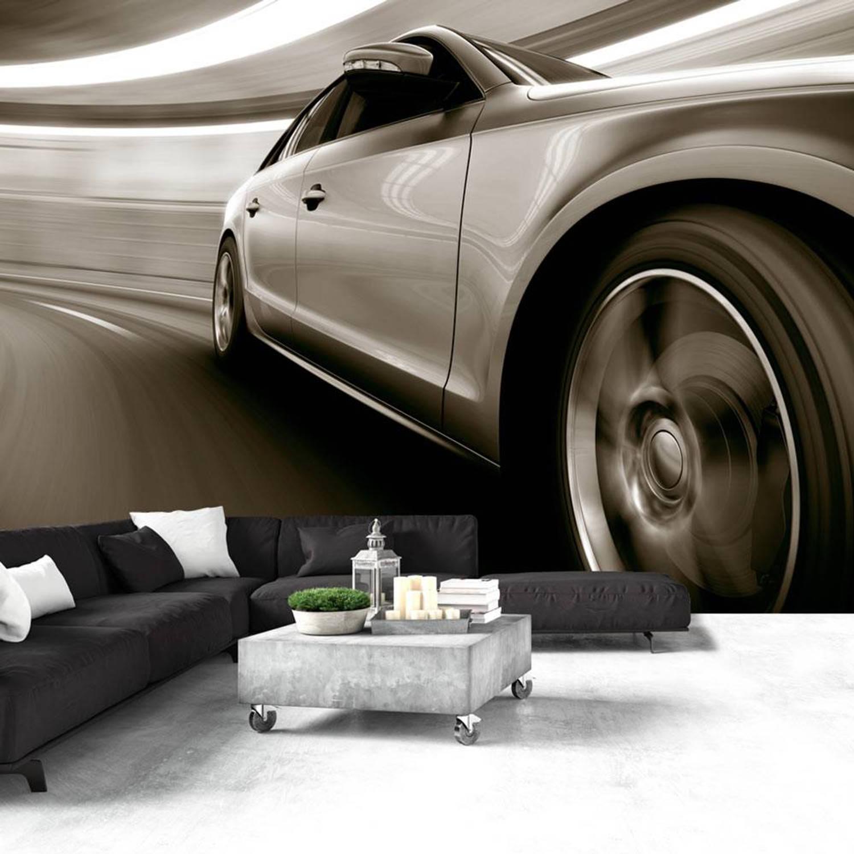 Fotobehang - Elegante auto - 200x140
