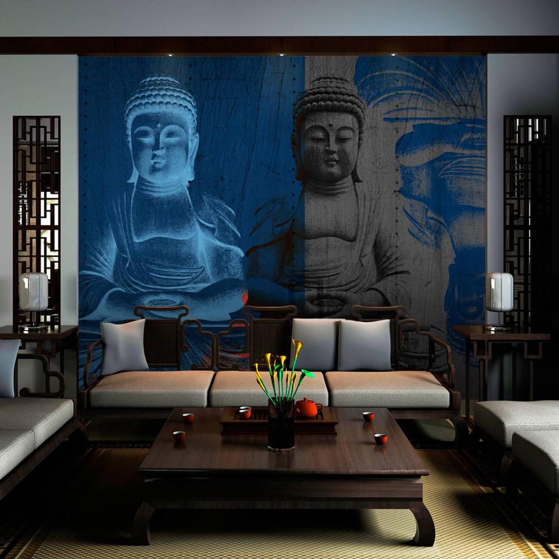 Fotobehang - Drie incarnaties van Boeddha - 250x193