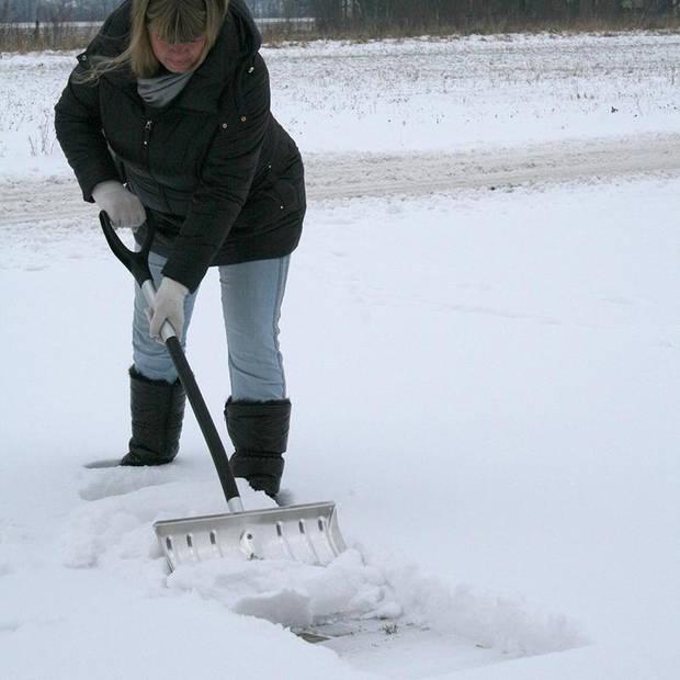 ProPlus sneeuwschuiver 124 cm zilver