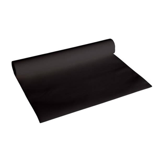 Cosy & Trendy Tafelloper - 0,40 x 4,8 meter (zwart)