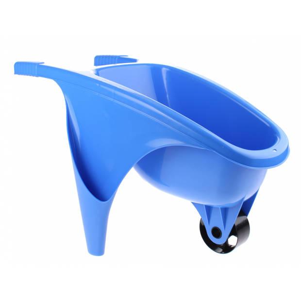 écoiffier kruiwagen 50 cm blauw