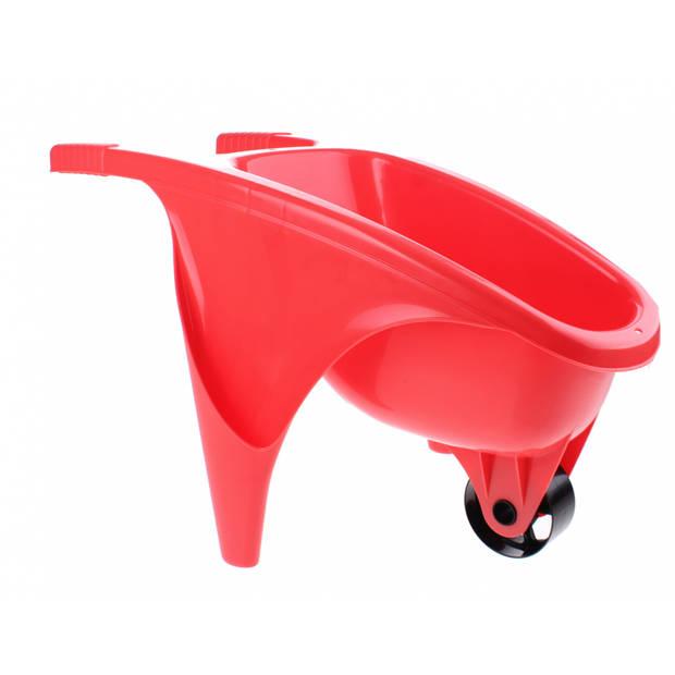 écoiffier kruiwagen 50 cm rood