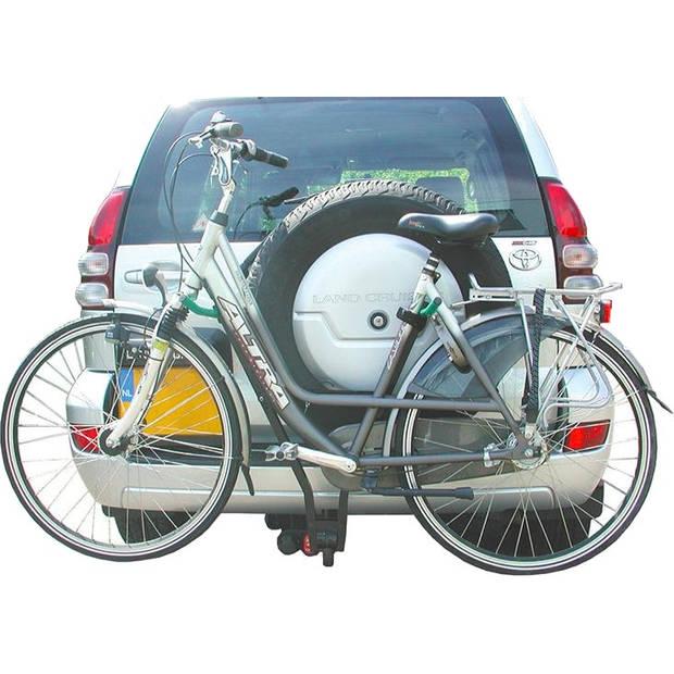 ProPlus fietsendrager Klick Fast II met kentekenhouder 2 fietsen