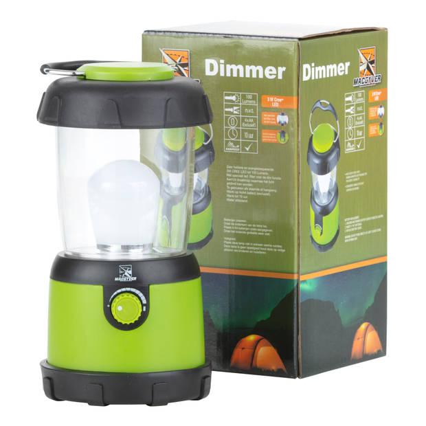 MacGyver Campinglamp Dimmer Kampeerlamp Tentlamp 3W Cree® LED 10 uur brandtijd Regenbestendig
