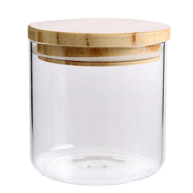 Blokker voorraadpot - glas - 0,5 liter