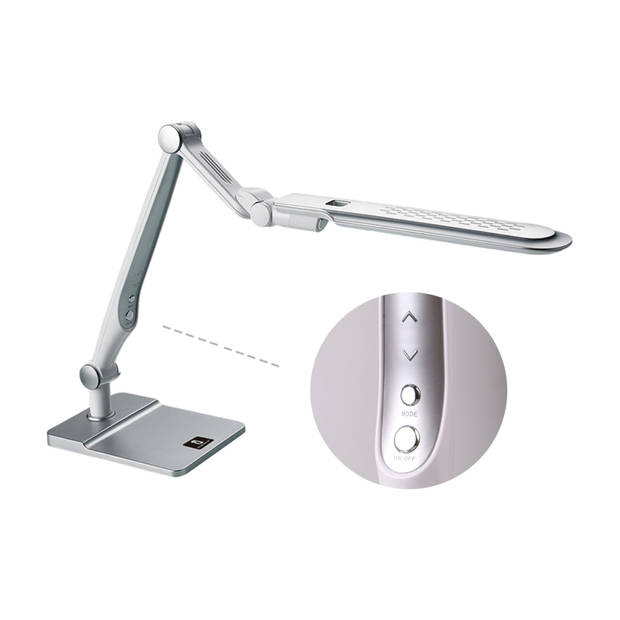 Aigostar Alexander - LED Bureaulamp - Zilver