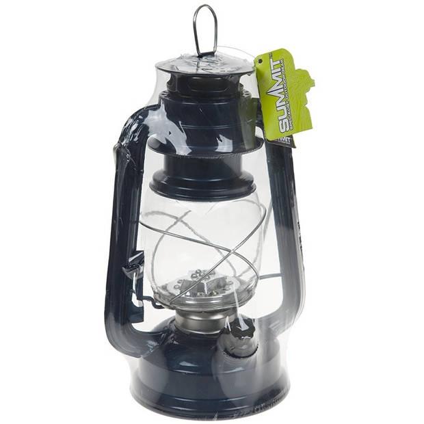 Summit campinglamp Hurricane donkerblauw 24 cm