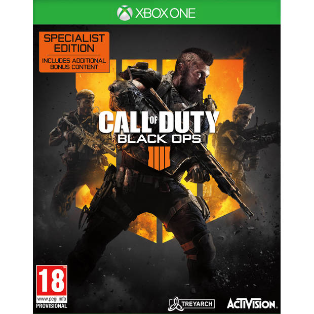 Xbox One Call of Duty Black Ops 4 Specialist Edition