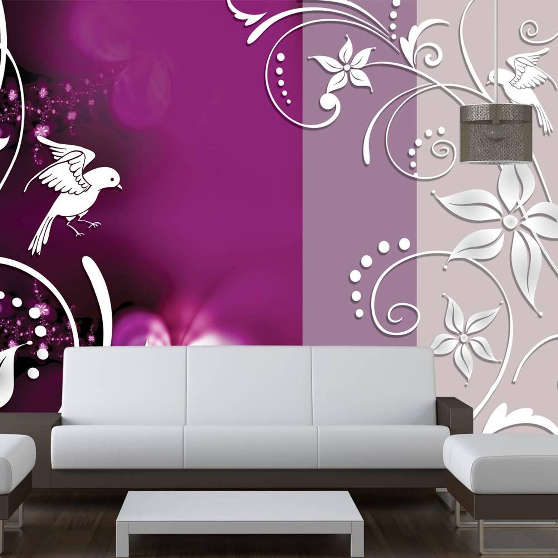 Fotobehang - Floral fantasy - 350x245