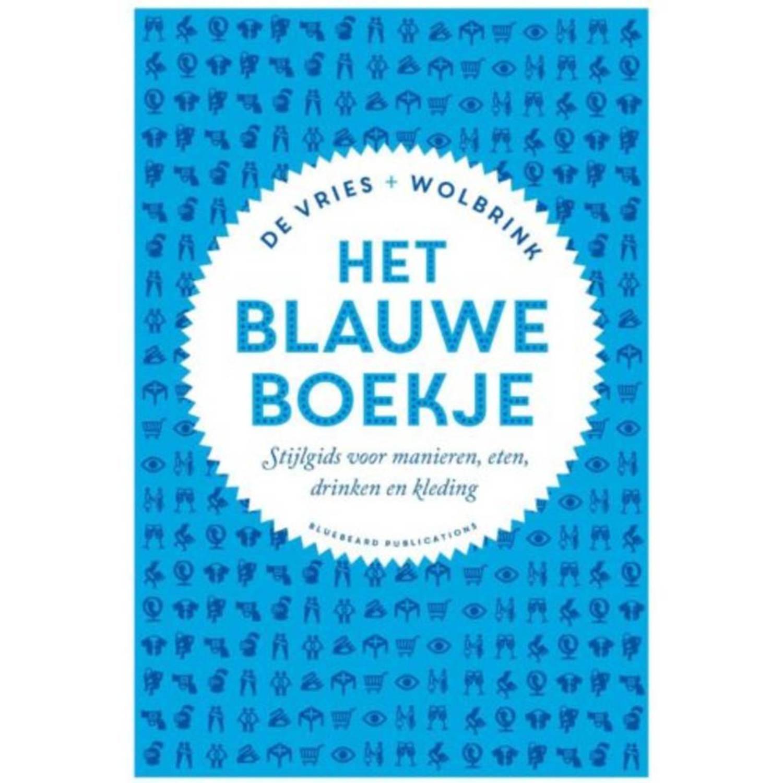 Het Blauwe Boekje. Stijlgids voor manieren, eten, drinken en kleding, Stefan de Vries, Hardcover