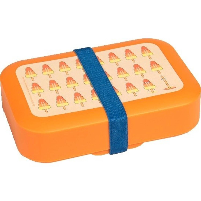 Afbeelding van Amuse broodtrommel ijsco 1 liter oranje