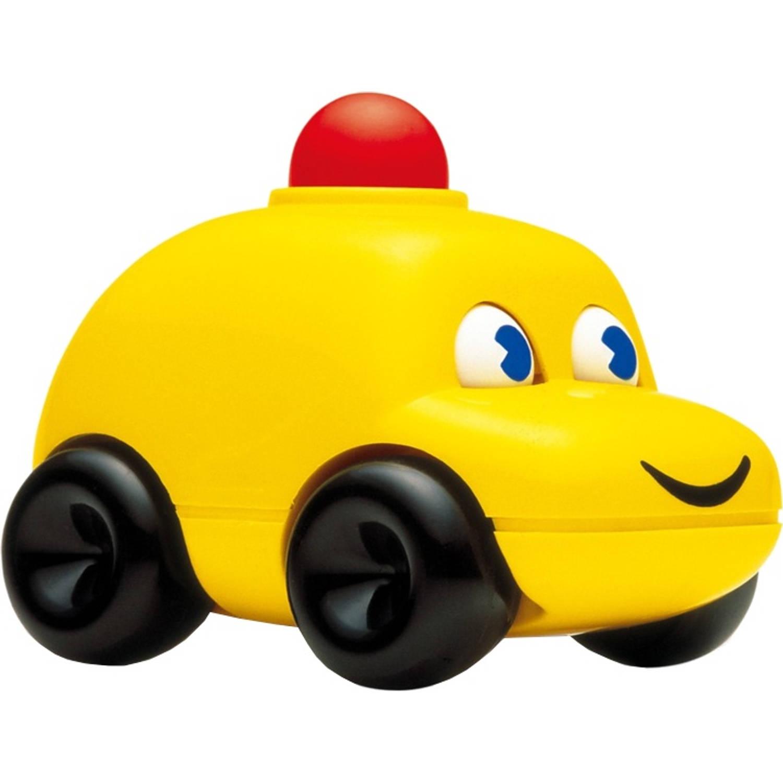 Afbeelding van Ambi Toys speelgoedauto 13 cm geel