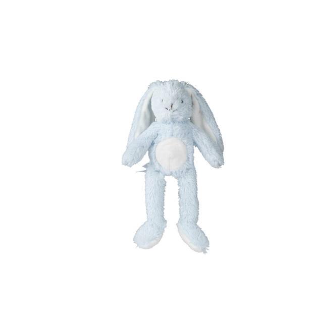 Blokker knuffelkonijn Bobby - Blauw - S
