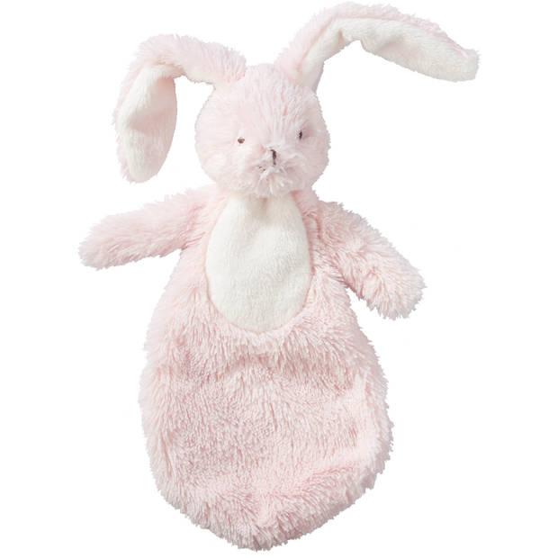 Blokker knuffeldoekje konijn Billy - Roze