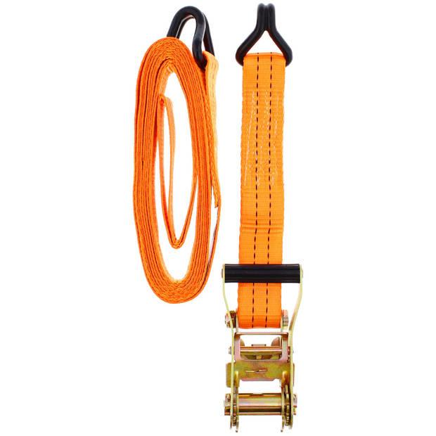 Premium Parts spanbandenset 2 stuks 5 meter oranje