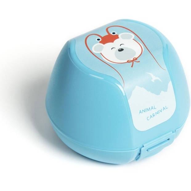 Amuse fruitdoosje ijsbeer 0,5 liter blauw