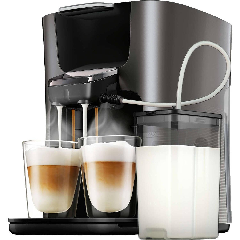 Philips SENSEO® Latte Duo Plus koffiepadmachine HD6574 50 grijs