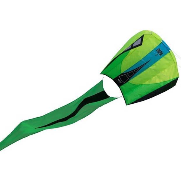 Prism eenlijnsvlieger Bora 7 Jade 124 x 81 cm groen