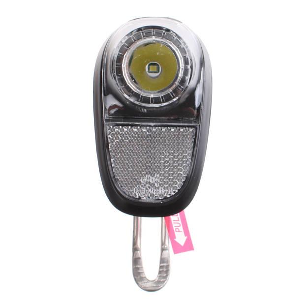 Union koplamp Mobile Plus batterij led zwart