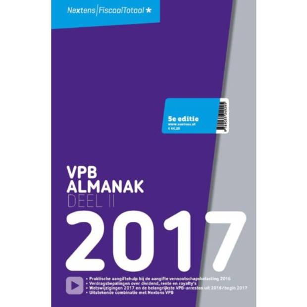 Nextens VPB Almanak / 2017 deel 2