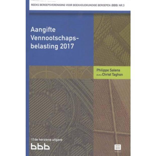 Aangifte Vennootschapsbelasting / 2017 - Reeks