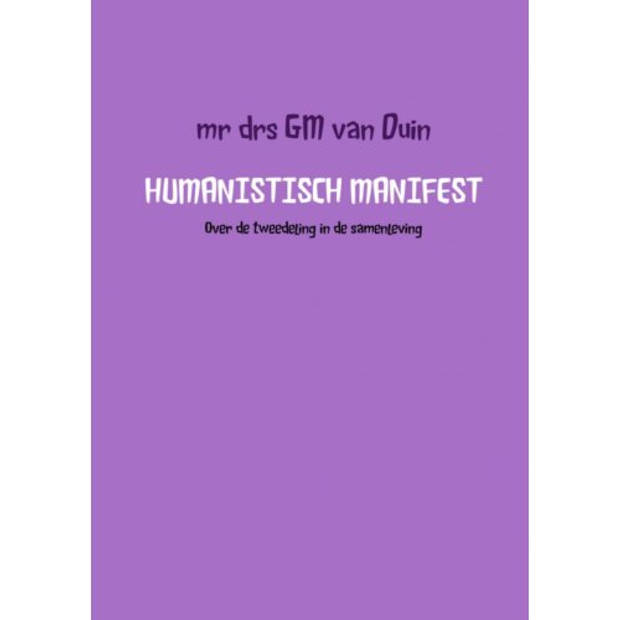 Humanistisch manifest