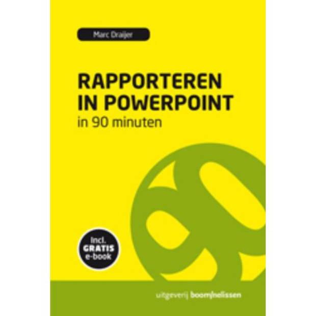 Rapporteren In Powerpoint In 90 Minuten - 90