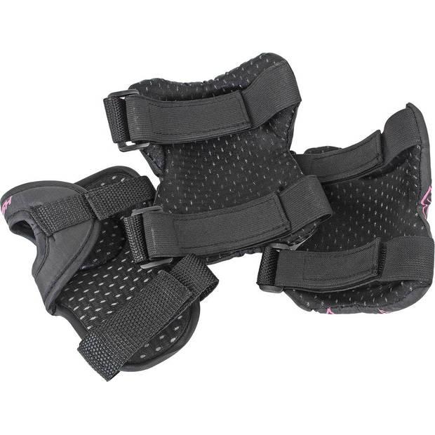 Tempish beschermset FID dames zwart/roze maat S