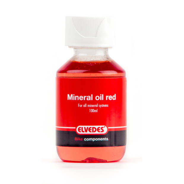 Elvedes rode mineraal olie Shimano 100 ml