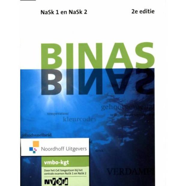 Binas / Nask1 En Nask2 Vmbo-Kgt / Informatieboek