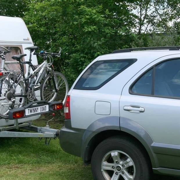 Twinny Load caravan hulpstuk 75 cm zilver