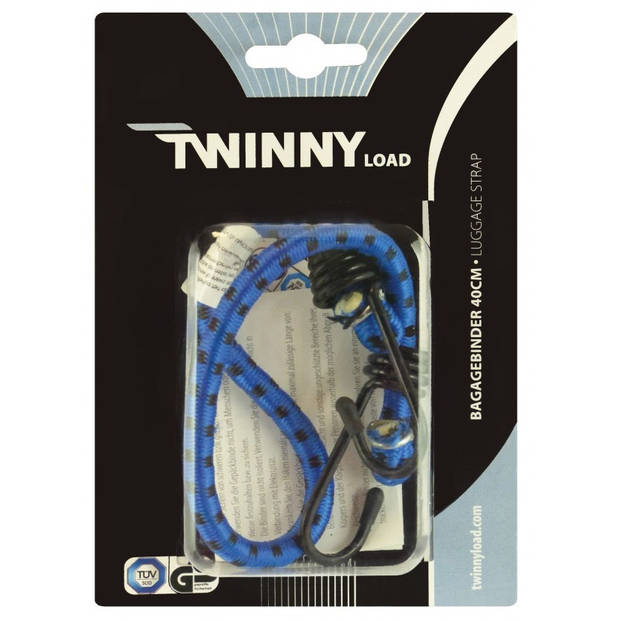 Twinny Load bagagebinder 400 x 8 mm blauw