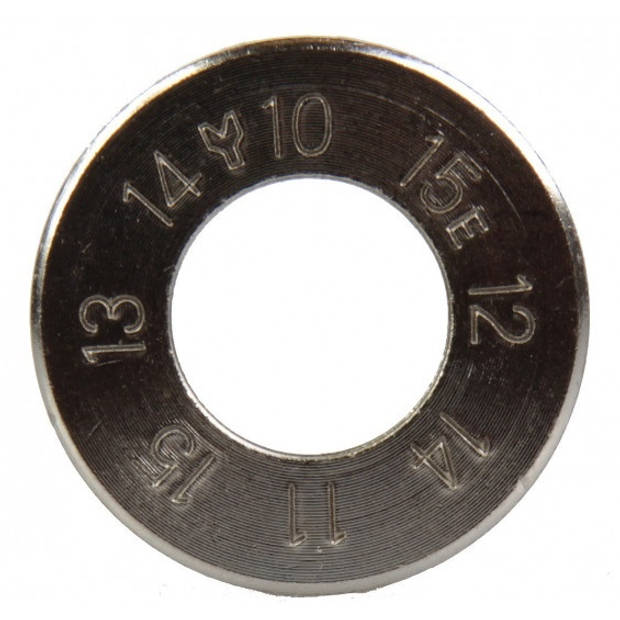 Simson spaakspanner 10/15 zilver