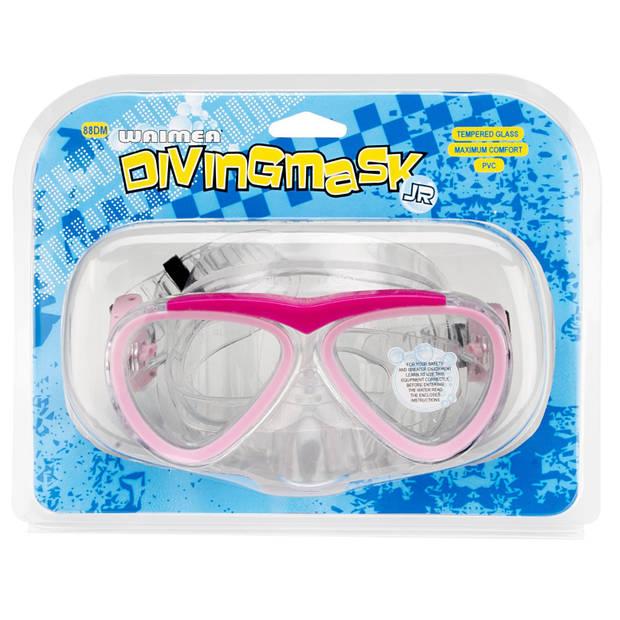 Waimea duikbril PVC meisjes roze