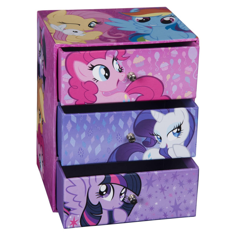 My Little Pony sieradenkastje 16,5 cm roze/paars