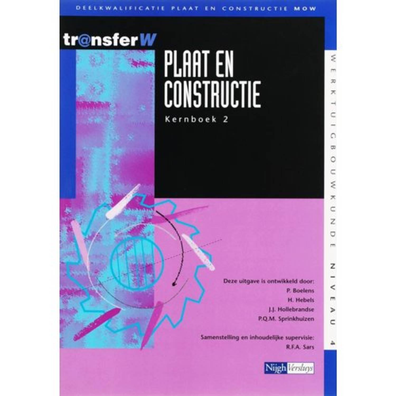 Plaat en constructie 2 Kernboek TransferW