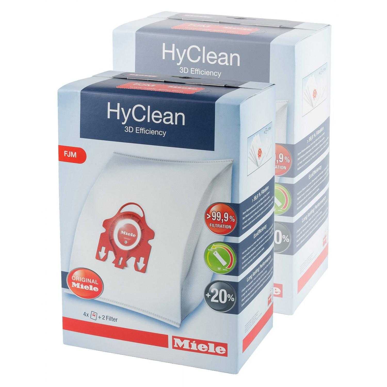 Miele HyClean 3D Efficiency FJM 2-pack - Stofzuigerzakken