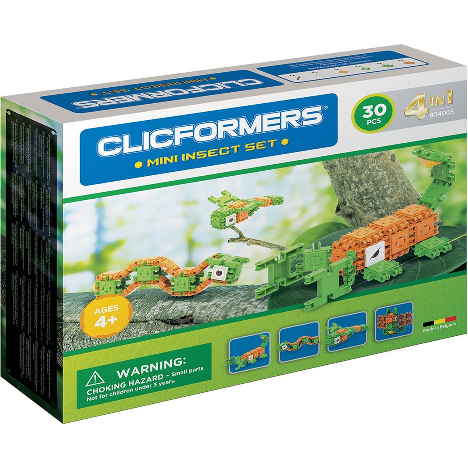 Clicformers mini-insectenset 30-delig