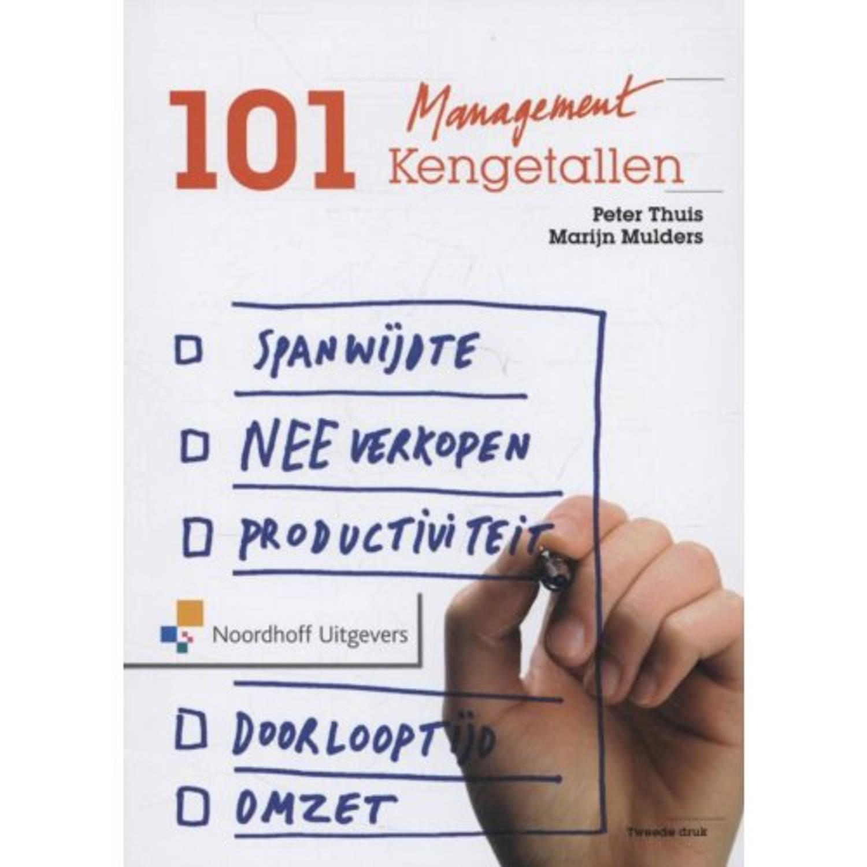 Afbeelding van 101 managementkengetallen