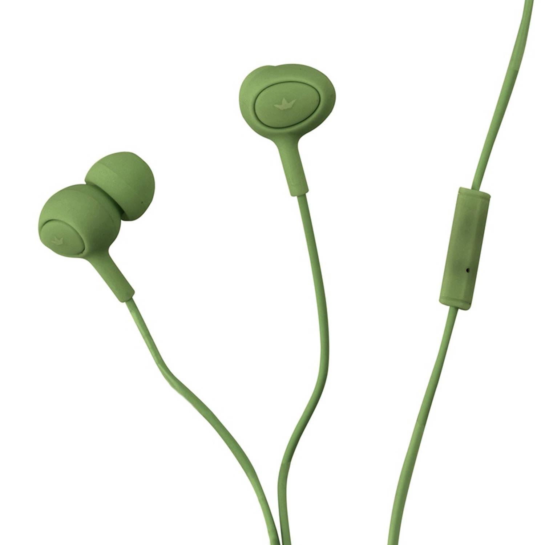 Dresz In-ear oordopjes kunststof/siliconen groen