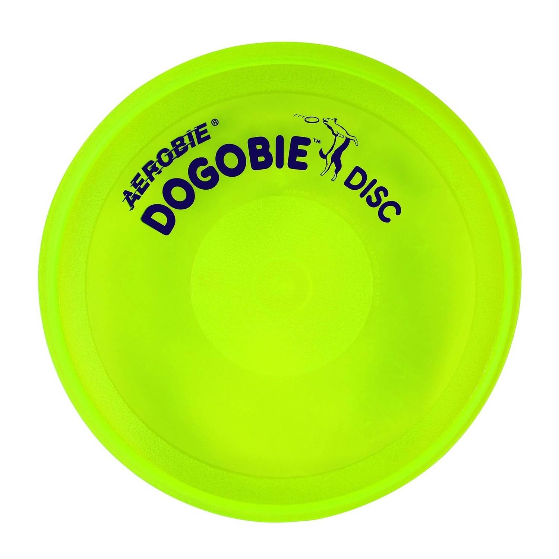 Afbeelding van Aerobie Dogobie hondenfrisbee 20 cm geel